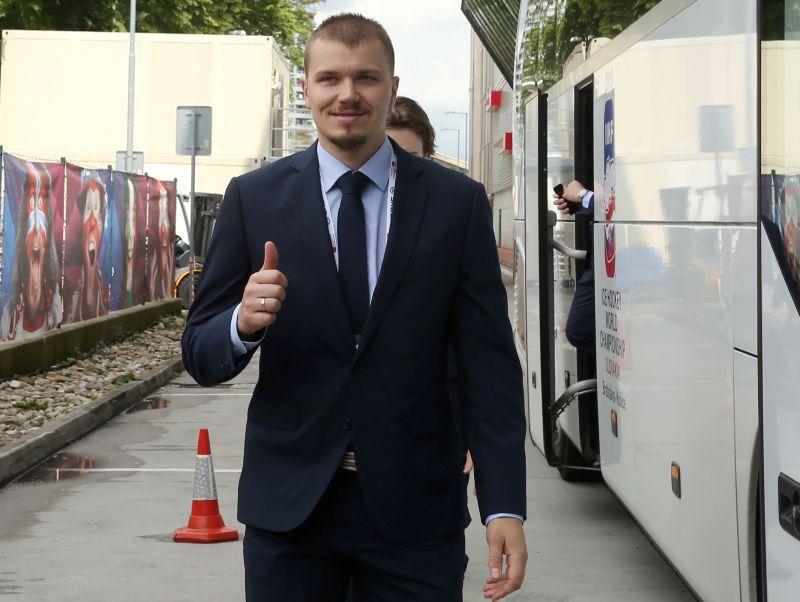 Oskars Cibuļskis šobrīd ir viens no visvairāk pieredzējušajiem Latvijas hokeja izlases aizsargiem.