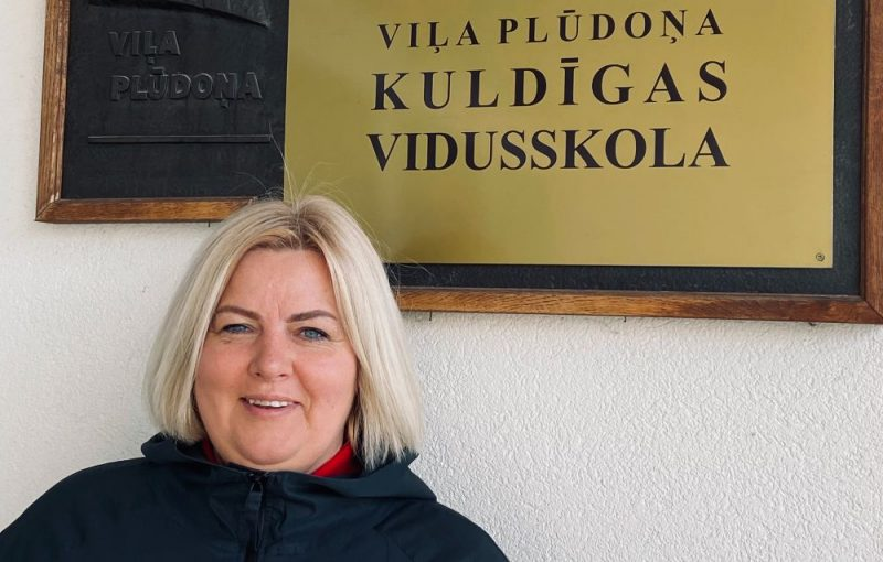 Dace Rimaševska, Kuldīgas V. Plūdoņa vidusskolas direktores vietniece izglītības jomā.