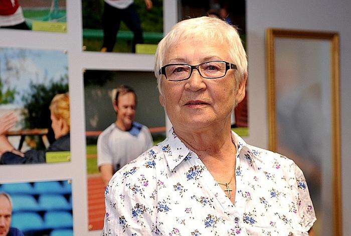 Valentīna Eiduka treneres karjerā ir izaudzinājusi daudzus titulētus Latvijas šķēpmetējus, šogad saņemot atzīnību  par mūža ieguldījumu Latvijas sportā.