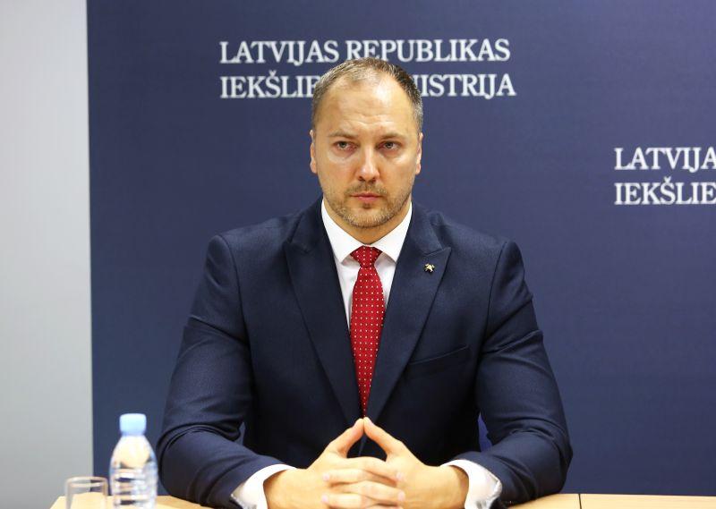 Iekšlietu ministrs Sandis Ģirģens