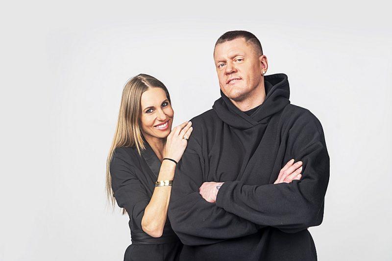 Kaspars Kambala ar draudzeni Olgu.