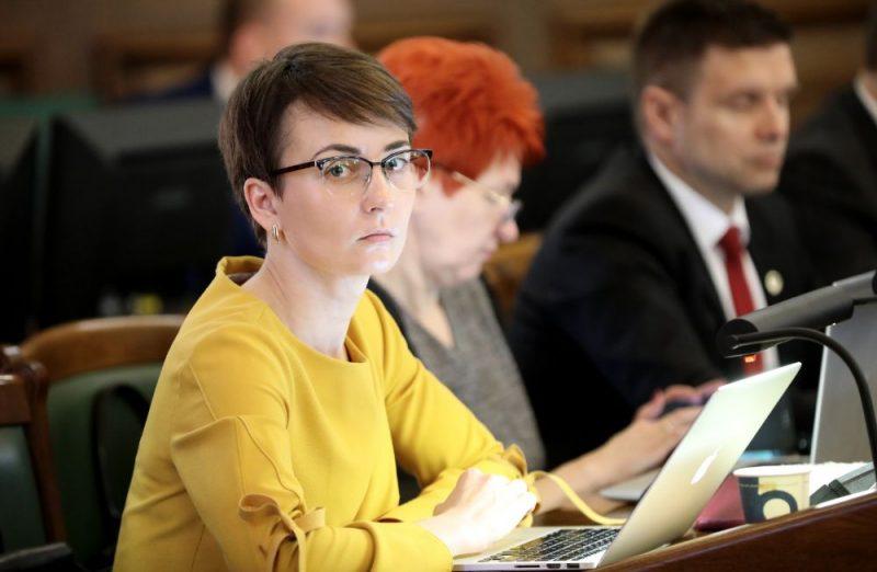 Saeimas deputāte Iveta Benhena-Bēkena
