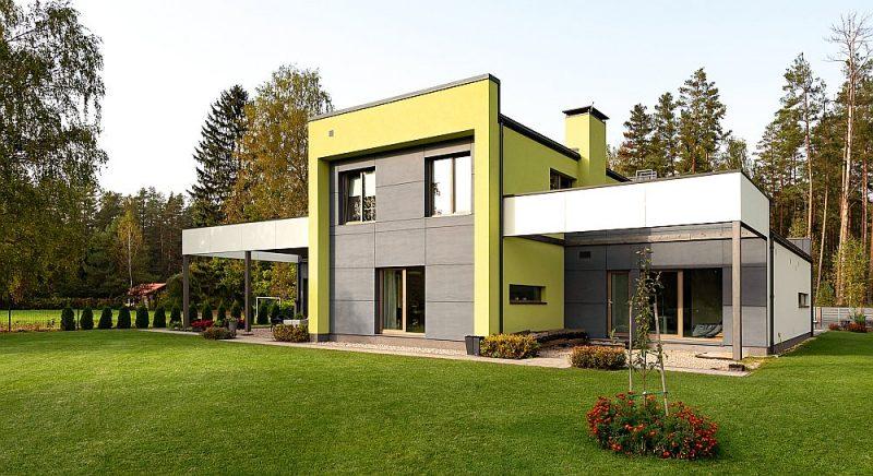 Energoefektīvākā privātmāja – Cimmermaņu ģimenes mājvieta Upesciemā.