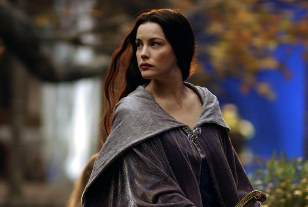 """Aktrise Līva Tailere 2003.gada filmā """"Gredzenu pavēlnieks: Karaļa atgriešanās""""."""