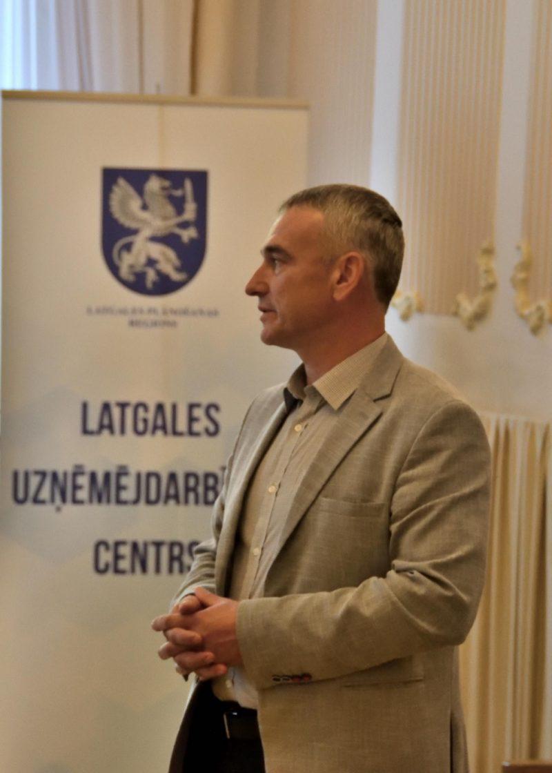 Andris Kucins, Latgales uzņēmējdarbības centra vadītājs.
