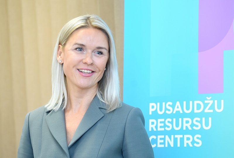 Liene Dambiņa stāsta par Pusaudžu resursu centra nākotnes plāniem.