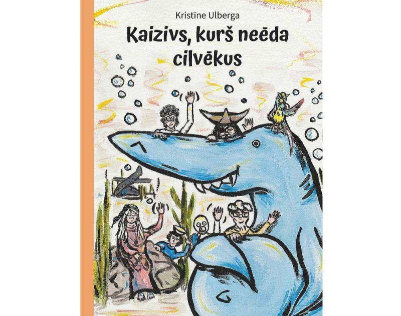 """Kristīne Ulberga. """"Kaizivs, kurš neēda cilvēkus"""". """"Dienas Grāmata"""", 2021."""