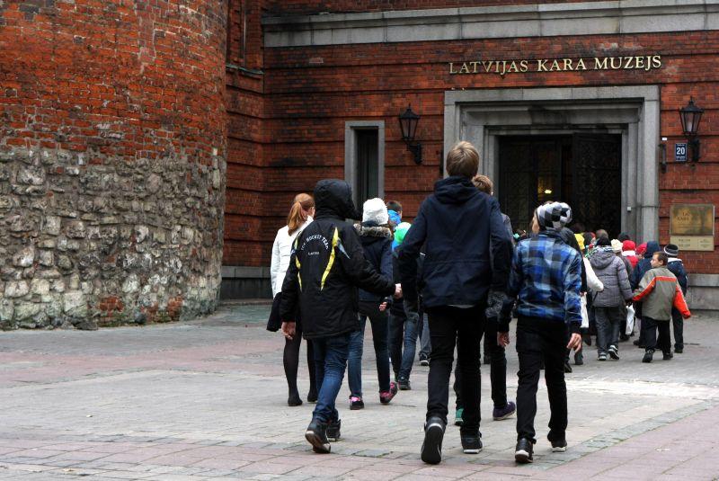Latvijas Kara muzejs mūsdienās.