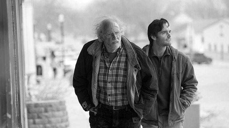 """Kadrs no Aleksandra Peina filmas """"Nebraska""""."""