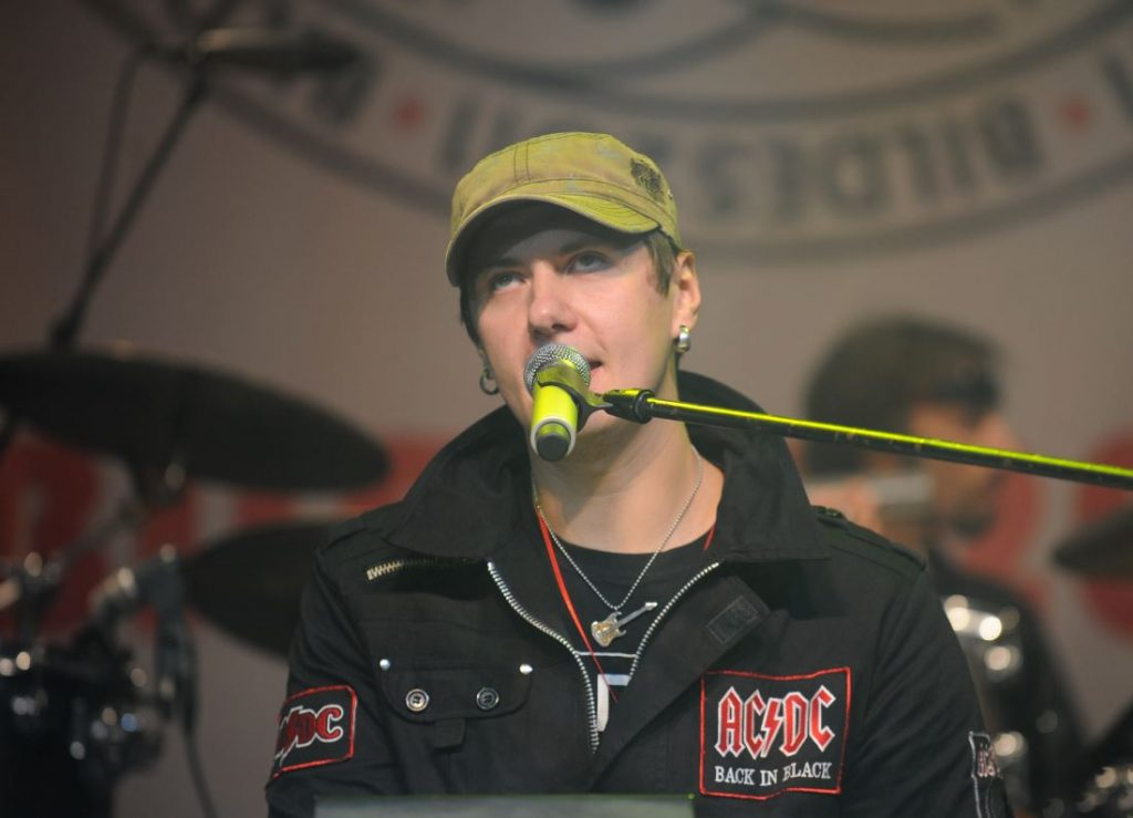 Mūziķis Jānis Lemežis.
