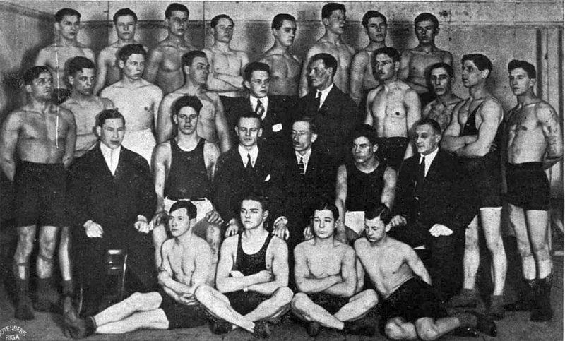 SSS bokseri 1924. gadā.