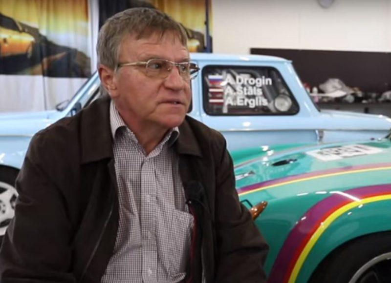 Autošosejas vecmeistars Andris Štāls