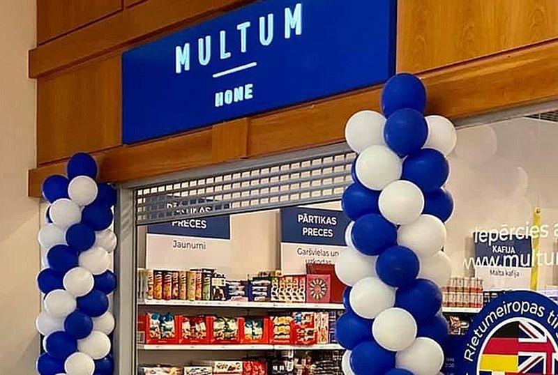 """Jaunā tirgotāja """"Multum"""" plāns ir piecu gadu laikā atvērt vismaz 25 veikalus Latvijā un izvērst darbību arī Igaunijā un Lietuvā."""