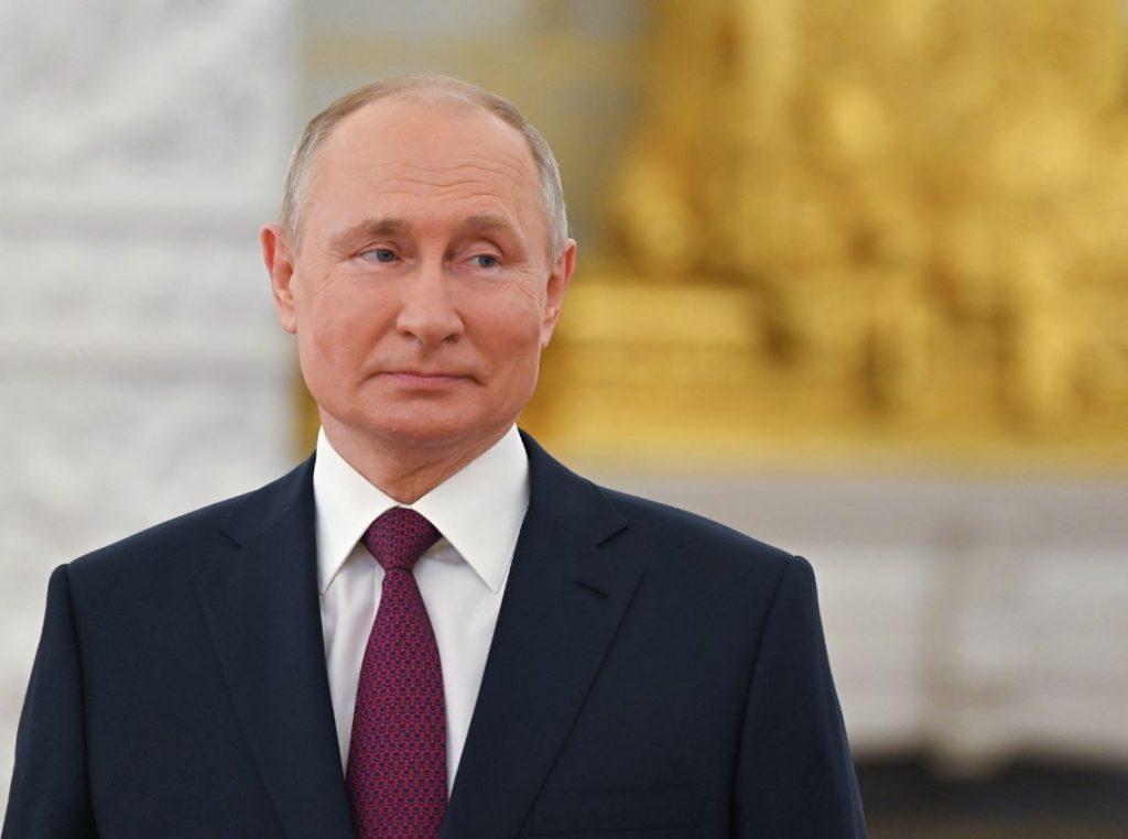 Krievijas prezidents Vladimirs Putins.