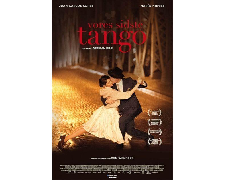 """Kadrs no Germana Krāla filmas """"Mūsu pēdējais tango"""", kuras centrā ir divu tango leģendu Marijas Nīves Rēgas un Huana Karlosa Kopesa attiecības daudzu gadu ilgumā."""