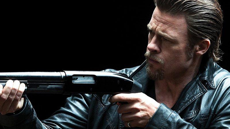 """Breds Pits galvenajā lomā Endrū Dominika filmā """"Kazino aplaupīšana""""."""