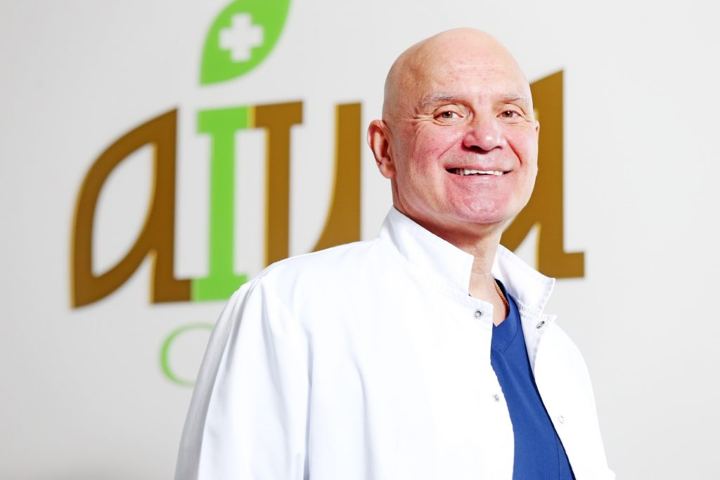 AIWA Clinic direktors, ķirurgs, dr. med. Sergejs Ļebedjkovs.