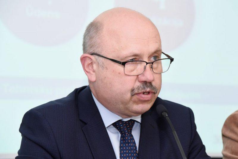"""AS """"Rīgas siltums"""" valdes priekšsēdētājs Normunds Talcis."""