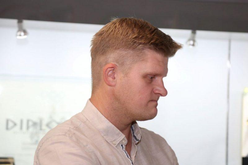 LTV žurnālists Dāvis Ernštreits