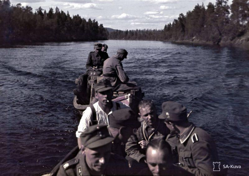 Somu karavīri frontē. 1942. gada jūlijs