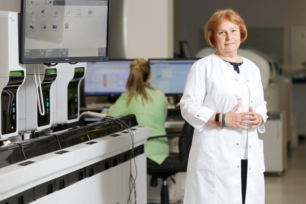 """""""Centrālās laboratorijas"""" valdes locekle Jeļena Storoženko."""