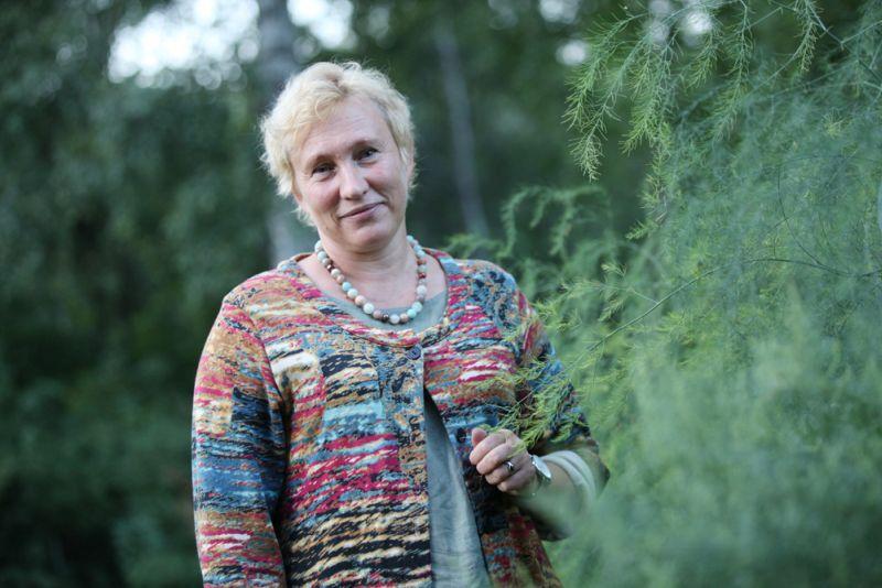 Ādažu Brīvās Valdorfa skolas latviešu valodas un literatūras skolotāja Inga Zemīte.