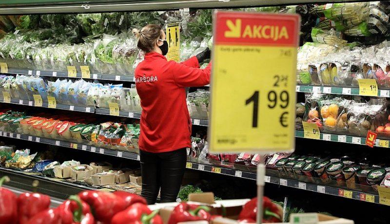 Latvijā pārtikas cenu inflācija ir bijusi starp straujākajām Eiropas Savienībā.