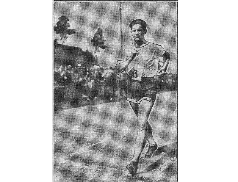 Jānis Daliņš 1932. gadā.