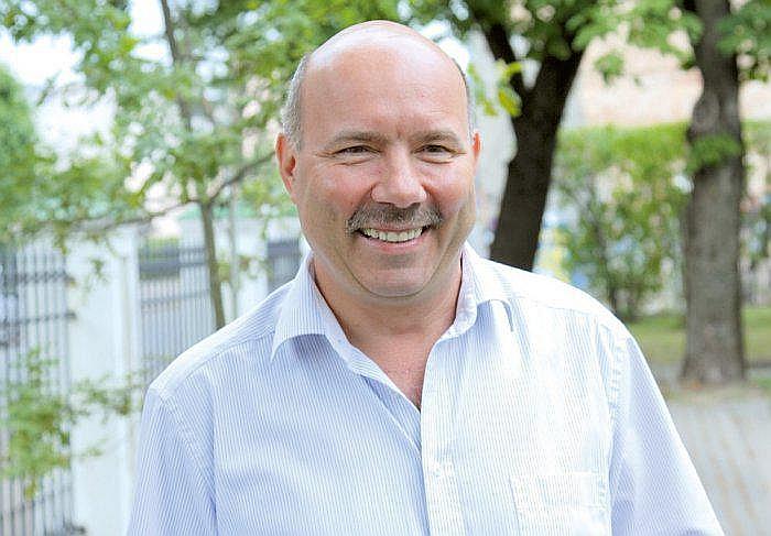 Lauksaimniecības un industriālās tehnikas asociācijas valdes priekšsēdētājs Aigars Laurinovičs.