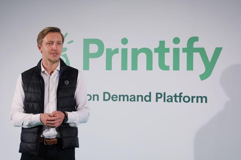 """""""Printify"""" līdzdibinātājs un vadītājs Jānis Berdigans: """"Plānojam turpināt savu izaugsmi, ieejot jaunos tirgos."""""""