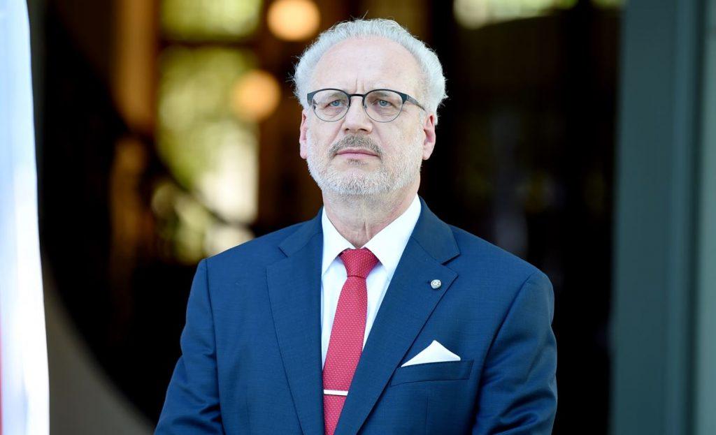 Latvijas prezidents Egils Levits.
